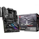 MSI MPG B550 GAMING EDGE WIFI ATX MotherboardSocket AM4 Ryzen 3rd Gen DDR4 4866 (Max 128GB) 2x M.2 Slots USB 3