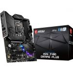 MSI MPG Z490 Gaming Plus ATX Gaming Plus ATX Gaming Motherboard Intel 10th Gen CPU LGA 1200 DDR4 4800MHz (up to 128GB) Dual M.