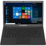 Hyundai Thinnote-A  14.1in Celeron Laptop  4GB RAM  64GB Storage  Expandable 2.5in SATA HDD Slot  Windows 10 Home S Mode  English Keyboard  Space Grey - Hyundai Thinnote-A Laptop - 14.1