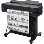 HP Designjet T650 Inkjet Large Format Printer - 24.02in Print Width - Color - Printer - 4 Color(s) - 26 Second Color Speed - 2400 x 1200 dpi - 1 GB - USB - Ethernet - Cut Sheet  Roll Pa