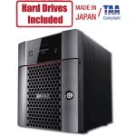 Buffalo TeraStation 3420DN Desktop 16 TB NAS Hard Drives Included - Annapurna Labs Alpine AL-214 Quad-core (4 Core) 1.40 GHz - 4 x HDD Supported - 4 x HDD Installed - 16 TB Installed HD
