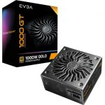 EVGA 220-GT-1000-X1 1000 GT Power Supply 80 Plus Gold Fully Modular Eco Mode with FDB Fan Black