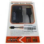 HDMI Scaler Adapter Black