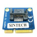 SATA 7Pin SSD HDD to Mini PCI-e mSATA Adaper