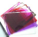 Comkia iPad Back Case For 3rd-Gen iPad Fit SmartCover Clear