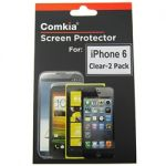 Comkia 2pack Ultra Clear Screen Protector foriPhone 6s/6
