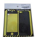 Skin Sticker for iPhone 5 Black Silk