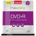 Maxell 16x DVD+R Media - 120mm