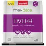 Maxell 16x DVD+R Media - 120mm