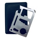 11 in 1 Multifunction Credit Card Survival KnifeCamping Tool