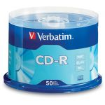 Verbatim CDR 700MB 52x 50PK Spindle (94691)