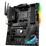 MSI B450 Gaming Pro Carbon Max WiFi ATX Motherboard Socket AM4 Ryzen 3rd Gen DDR4 4133MHz (Max 128GB) 2x M.2 Slots