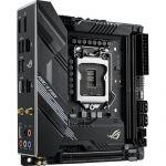 Asus ROG Strix H470-I Gaming Mini-ITX Motherboard Intel 10th Gen CPU LGA 1200 DDR4 2933MHz (up to 64GB) 2x M.2 Slots USB 3.2