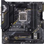 Asus TUF Gaming B460M-Plus (Wi-Fi) mATX Intel10th Gen CPU LGA 1200 DDR4 2933 (Max 128GB) 2x M.2 Slots Gigabit Ethernet