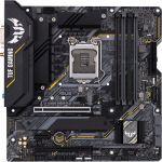 Asus TUF Gaming B460M-Plus (Wi-Fi) mATX Intel10th Gen CPU LGA 1200 DDR4 2933 (Max 128GB) 2x M.2 Slots Gigabit Ethernet