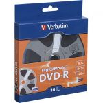 Verbatim 97946 Digital Movie DVD-R 10pk Bulk Box