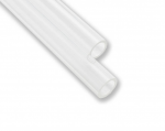 EKWB EK-Loop Hard Tube 14mm 0.5m Acrylic Hard Tubing Inner Diameter 10mm Outer Diameter 14mm 2 Pack