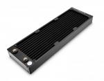 EKWB EK-CoolStream PE 360 Triple Radiator Copper Fins 90% Copper Tubing H90 Brass Chambers 40mm Height 200mL Capacity 2x G1/4