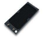 EKWB EK-CoolStream SE 240 Slim Dual RadiatorCopper Fins 90% Copper Tubing H90 Brass Chambers 28mm Height 120mL Capacity 2x