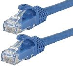 CAT6 Straight Patch 5' Blue