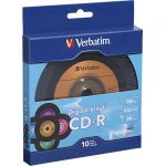 Verbatim 97935 CD-R 80min 52X with Digital Vinyl S urface - 10pk Bulk Box