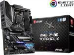 MSI MAG Z490 Tomahawk ATX Gaming Motherboard Intel 10th Gen CPU LGA 1200 DDR4 4800MHz (up to 128GB) Dual M.2 Slots USB 3.2 Ge