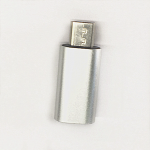 USB-C to Micro Adapter Silver