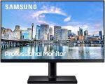 Samsung F24T452FQN 24in IPS Monitor 1920x1080 Resolution 75Hz Refresh Rate 16:9 1x HDMI 1.4 1x DisplayPort 1.2 USB 2.0