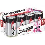 Energizer E93FP-8 C Batteries 8 Pack 1.5V DC