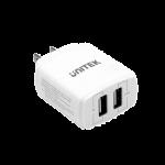 Unitek Y-P547 17W 2-Port USB Smart Wall ChargerTotal 5V3.4A