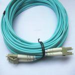 Fiber Cable LC/LC Duplex Multimode OM4 30M (100ft)  OM3 Compatible