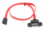 eSATA to SATA 2.0 Cable M/F 18in Red