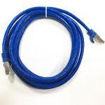 STP Cat6A Patch Cable 10' BLUE 10 Gigabit RJ45