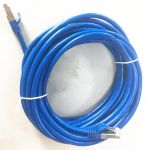 STP Cat6a Patch Cable  25' Blue 10 Gigabit RJ45
