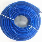 STP Cat6a Patch Cable 100'  Blue 10 Gigabit RJ45