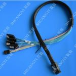 Mini SAS to 4x SATA Breakout Cable 1.8'Mini SAS to 4x SATA Breakout Cable 1.8'
