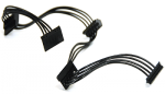 SATA to 4x SATA Power Splitter Adapter Cable 1.5'SATA to 4x SATA Power Splitter Adapter Cable 1.5'