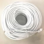 CAT6 Straight Patch 550MHz UTP Cable 150' WHITE