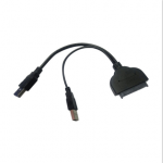 USB2.0 &USB3.0 to SATA 6Gbps Cable