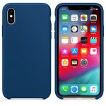 iPhone XR Silicon Case Blue