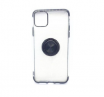 iPhone 11 Case with Ring Stand Clear with black