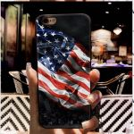 iPhone XS Case TPU with flag 2