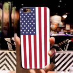 IPhone XS Case TPU w/ flag