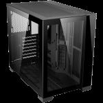 Lian-Li O11D MINI-X Mid-Tower Case; ATX mATX Mini-ITX 2x2.5in 2x3.5in Tempered Glass; Black