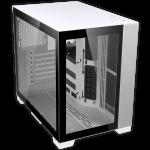 Lian-Li O11D MINI-W Mid-Tower Case; ATX mATX Mini--ITX 2x2.5in 2x3.5in Tempered Glass; White