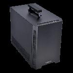 Lian-Li TU150-X Aluminum Mini-ITX Mini-DTX 2 X2.5 SSD OR 1 X 2.5 SSD + 1 X 3.5 HDD 3x Expansion slots 2x Front USB 3.0
