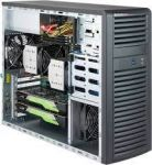 Supermicro CSE-732D3-1K26B SuperChassis Mid-TowerCase 7x Full Height Expansion Slots 4x 3.5in Bays 4x 2.5in Bays 2x 5.25in Bays