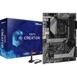 ASRock X570 Creator ATX Motherboard AMD SocketAM4 Ryzen CPU Supported Max 128GB DDR4 Memory PCI Express 4.0 7.1 HD Audio