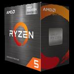 AMD Ryzen 5 5600G Desktop Processor 6C/12T 3.9GHz Base Clock 4.4GHz Max Boost 16MB L3 Cache