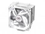 DEEPCOOL GAMMAXX 400 CPU Cooler 4 Heatpipes 120mm PWM Fan White